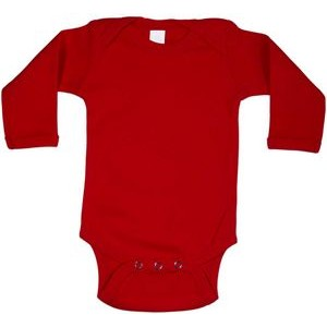 Red Long Sleeve Onezie